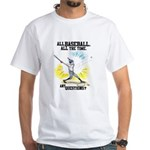All Baseball Swing White T-Shirt