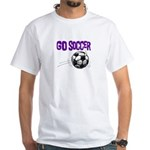 All Soccer Girl White T-Shirt