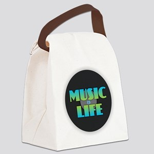 MUSIC is LIFE Canvas Lunch Bag