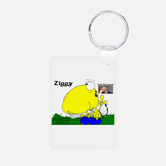 Ziggy Aluminum Photo Keychain