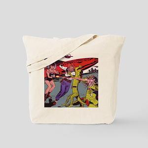 $19.99 Cowboy vs Alien Tote Bag