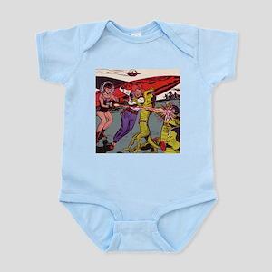 $19.99 Cowboy vs Alien Infant Bodysuit