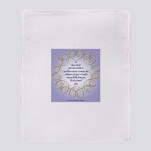 ACIM-Spotless Mirror Throw Blanket