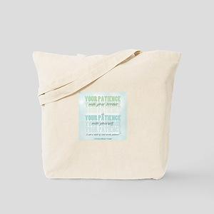 ACIM-Patience Tote Bag