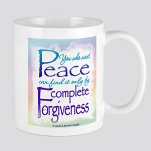 ACIM-You Who Want Peace Mug