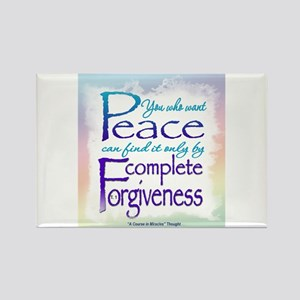 ACIM-You Who Want Peace Rectangle Magnet (10 pack)