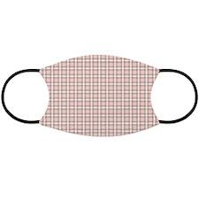 Pink Tartan Pattern Face Mask