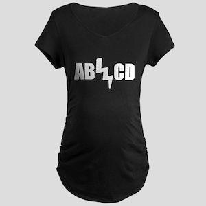 AB CD Maternity Dark T-Shirt