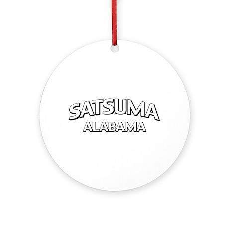 Satsuma Alabama Ornament (Round)