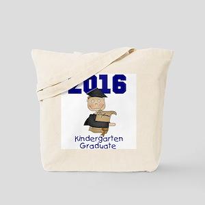 Boy Kindergarten Grad 2016 Tote Bag