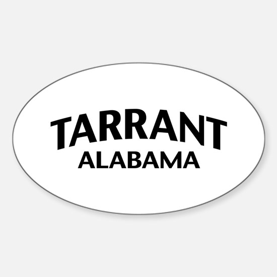 Tarrant Alabama Sticker (Oval)