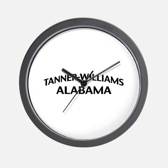 Tanner-Williams Alabama Wall Clock