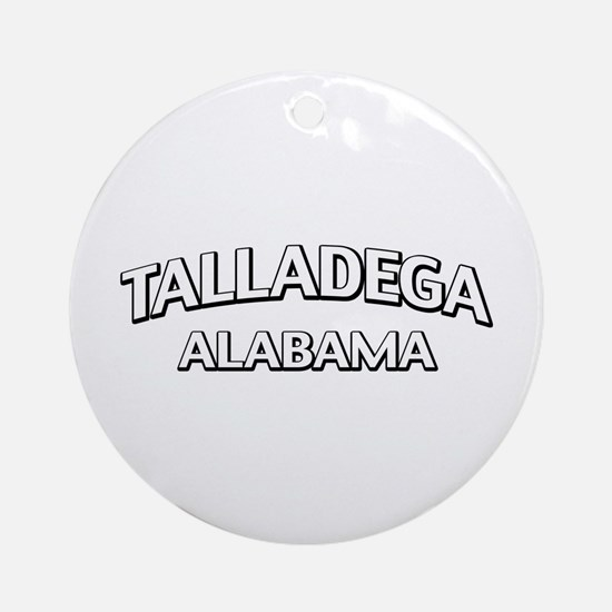 Talladega Alabama Ornament (Round)