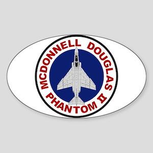 F-4 Phantom Sticker (Oval)