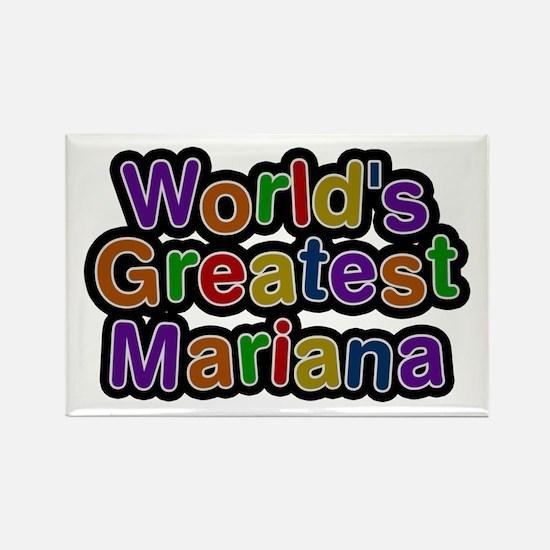 World's Greatest Mariana Rectangle Magnet
