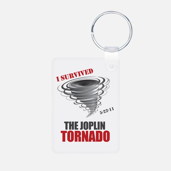 I Survived Joplin Tornado Keychains