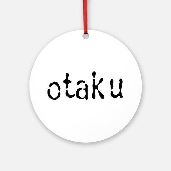 Otaku Text Ornament (Round)