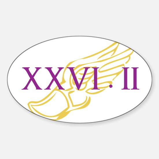 XXVI.2 cum pictura Sticker (Oval)