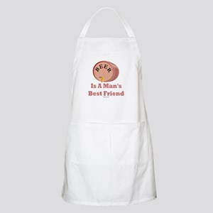 Beer Man's Best Friend Apron