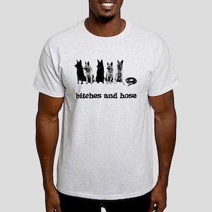 Bitches And Hose Shirt Light T-Shirt