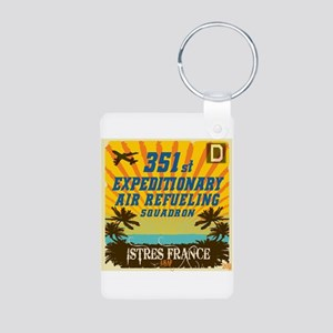 351st EARS Aluminum Photo Keychain