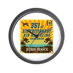 351st EARS Wall Clock
