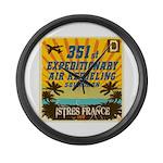 351st EARS Large Wall Clock