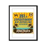 351st EARS Framed Panel Print