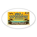 351st EARS Sticker (Oval)