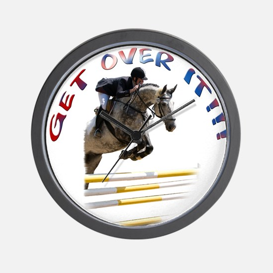Get over It!!! Wall Clock
