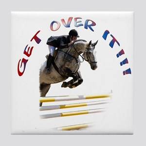 Get over It!!! Tile Coaster