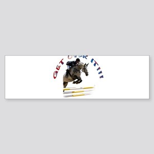 Get over It!!! Sticker (Bumper)