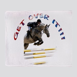 Get over It!!! Throw Blanket