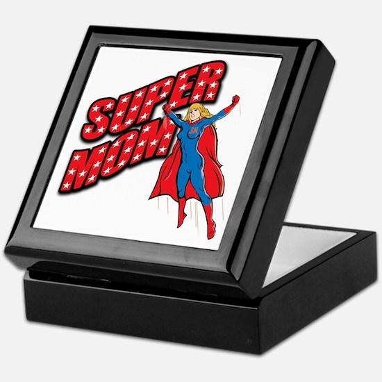 Super Mom Keepsake Box