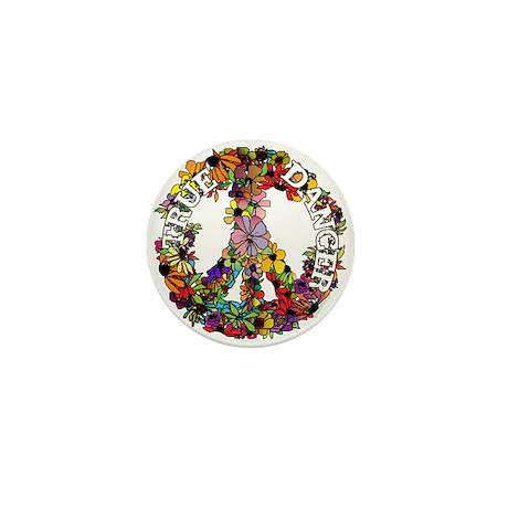 True Dancer Peace Symbol Mini Button (100 pack)