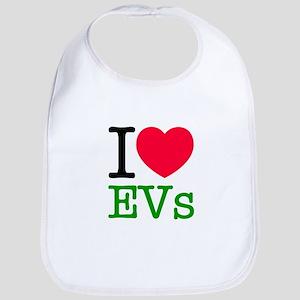 I Love EVs Bib