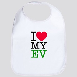 I Love My EV Bib