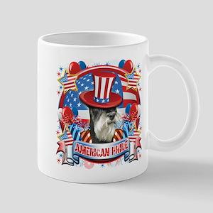 American Pride Miniature Schnauzer Mug
