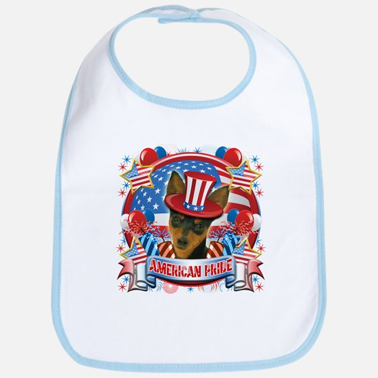 American Pride Min Pin Bib