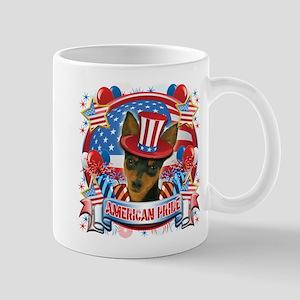 American Pride Min Pin Mug