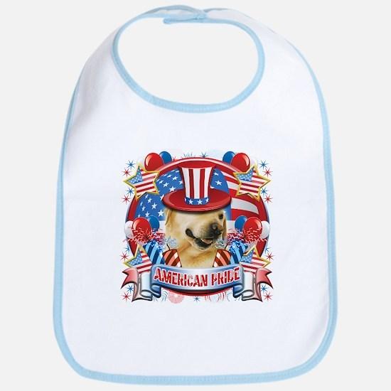 American Pride Labrador Bib