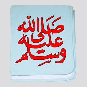 Mohamad Peace Be Upon Him baby blanket