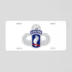 173rd Airborne Master Aluminum License Plate