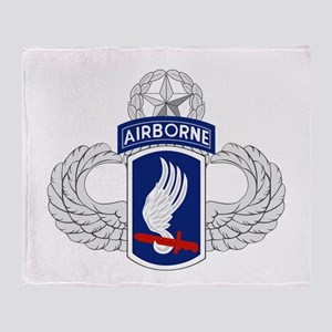 173rd Airborne Master Throw Blanket