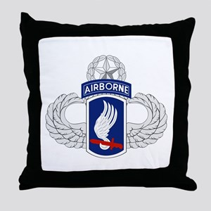 173rd Airborne Master Throw Pillow