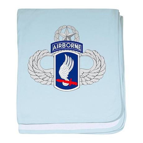 173rd Airborne Master baby blanket
