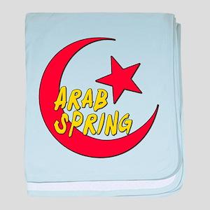 Arab Spring baby blanket