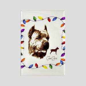 Cane Corso holiday designs Rectangle Magnet