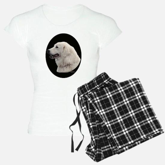 Kuvasz Portrait Pajamas