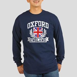 Oxford England Long Sleeve Dark T-Shirt